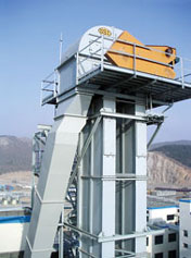 GSI Bucket Elevators by Cleveland Grain Systems